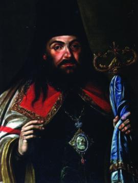 Портрет святителя Иннокентия. 18 в. ИОХМ