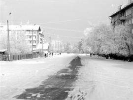 Улица посёлка Мегет