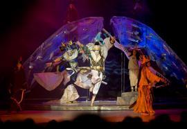 """Театр юного зрителя, г.Иркутск. Спектакль """"Легенды седого Байкала""""."""