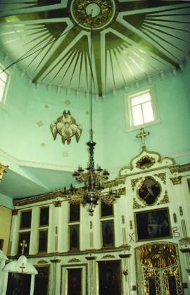 Никольская церковь в с. Лиственичное. Интерьер