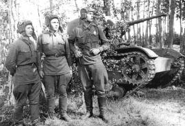 Экипаж танка Т-26