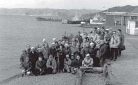 Первая международная верещагинская конференция на Байкале. В.А.Коптюг - второй слева в первом ряду.