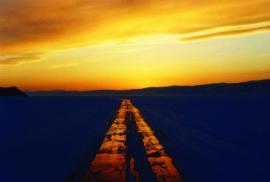 Байкальский зимний «тракт»