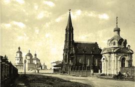 К концу 1884 строительство, в основном, было завершено