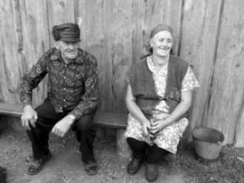 Балаганский район. Пенсионеры из посёлка Тарнополь