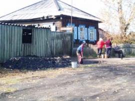 Поселок Забитуй с давних пор известен как угольная кладовая.