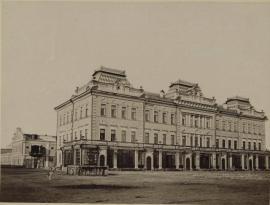 """Гостиница """"Московское подворье"""". Иркутск, 1880-е."""