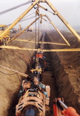 Строительство ТС ВСТО-1