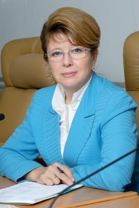 Людмила Михайловна Берлина, председатель Законодательного собрания