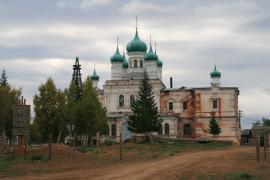 Церковь в селе Верхоленск.