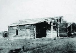 Зимнее устье на рыбоделе в Дагарах. 1902 г. ИОКМ ф433-103