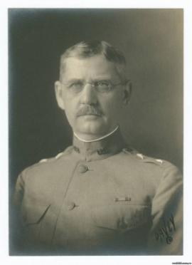 Командующий американскими экспедиционными силами в Сибири и на Дальнем Востоке (AEFS) генерал-майор Уильям Сидней Грэйвс