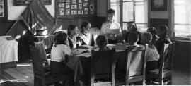 Заседание совета дружины одной из Иркутских школ