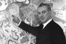 Председатель Иркутского горисполкома Н. Салацкий