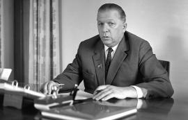 1-й секретарь обкома КПСС Семен Николаевич Щетинин