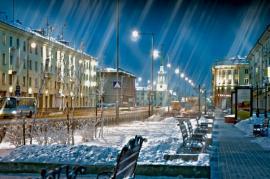 Ночь в Ангарске