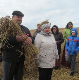 Белорусский праздник урожая Дожинки в Аларском районе