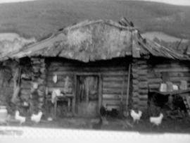 В селе Обхой до сих пор сохранилась бурятская юрта