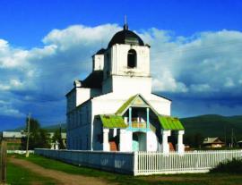 Церковь Рождества Христова в с. Читкан