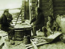 Засол рыбы в бурятском рыбоделе ИОКМ ф471-245