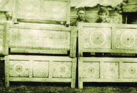 Бурятские ящики для хранения одежды ИОКМ ф471-72