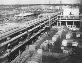 Первые метры труб Ангарских тепловых сетей проложили 50 лет назад, теперь каналы протянулись на 440 километров, к жилым домам и предприятиям города