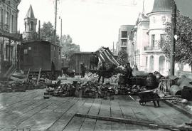 Укладка мостовой по ул. Карла Маркса