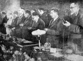В президиуме Конференции по изучению производительных сил Иркутской области
