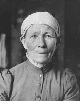 Листвянская мещанка. 20-е г. Фото Житенева