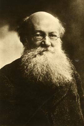 Пётр Алексеевич Кропоткин, один из идеологов анархизма, выдающий русский учёный