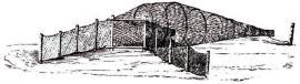 П. И. Пежемский. Рисунки рыболовных снастей. Из книги «Живописные путешествия по Иркутской губернии» Иркутск, 2007