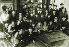 Команда ледокола «Ангора». 1941 г. ИОКМ 13866-6