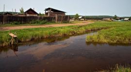 В деревне Большая Тарель