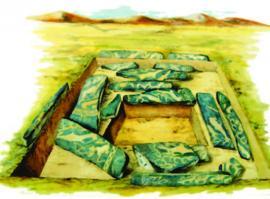 Могильник, плиточная эпоха