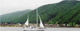 Белые паруса у Николы