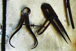 Слесарный инструмент 19 в.