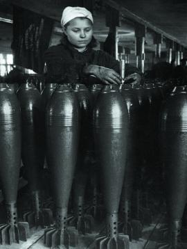 На заводе боеприпасов