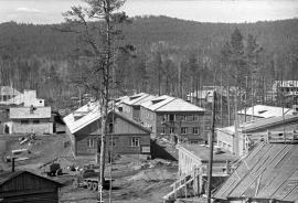 Строящийся поселок Усть-Илимск