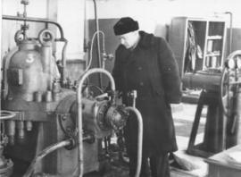 Первый начальник Омской перевалочной базы Н.Крайкин