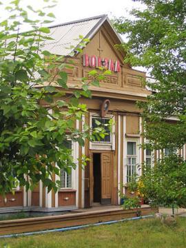 Старое здание вокзала станции Вихоревка