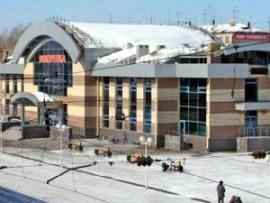 Новое здание вокзала станции Вихоревка