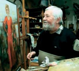 Н.П. Башарин — заслуженный художник России