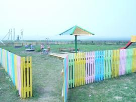 Детская игровая площадка в д. Паршевниково