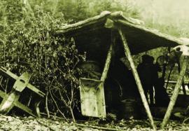 Рыбодел артели Воронова, мыс Курла Н-Ангарского района ИОКМ ф433-86