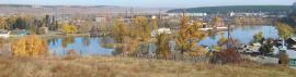 Вид посёлка Мишелёвки
