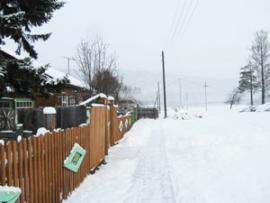 Снег в Шаманке