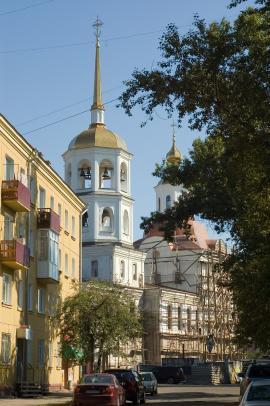 Иркутск. Улица 5-й Армии (бывшая Троицкая)
