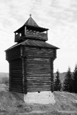 Острожная башня в селе Бельск стоит на своем месте уже более трех веков