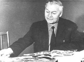 Иван Николаевич Ивашевский, сын Натальи Ильиничны, 1960-е гг.
