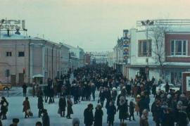 Советский Иркутск. Перекрёсток улиц Дзержинского и Урицкого